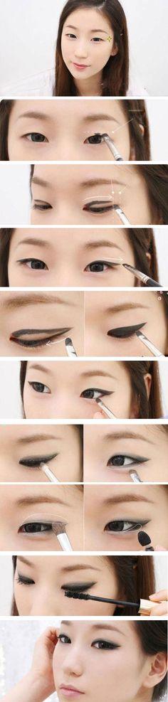 Cách trang điểm mắt một mí