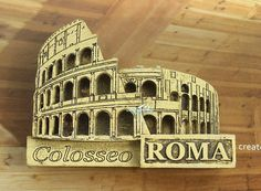 Italy Roma Colosseo Tourist Travel Souvenir 3D Resin Decorative Fridge Magnet Craft GIFT IDEA