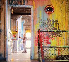 Michael Schoenweis, Tire Factory, with Peat Eyez Wolleager #stl #graffiti #photography #schmidtartcenter