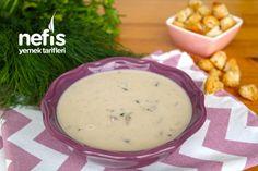Harika Kremalı Mantar Çorbası (videolu) - Nefis Yemek Tarifleri Cheeseburger Chowder, Soup, Soups