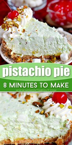 Your holiday menu must have this easy recipe! This unbelievably delicious Pistachio Pie is sure to be a hit with your family and friends. With just a few minutes of prep work, you can have an extra creamy and irresistible no-bake treat for your Thanksgiving dessert table!