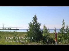 Video footage of Enbridge's 60-year-old tar sands pipelines, strung across the Straits of Mackinac, have never been released to the public. This footage revealed that the pipelines are suspended over the lake bed, some of the original supports have broken away indicating the presence of corrosion and some sections of the pipelines are covered in large piles of unknown debris.