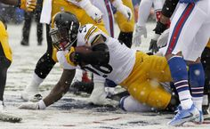 Le'Veon Bell sets Steelers record for rushing yards in a single game | Steelers Wire, USA Today (Sunday, December 11, 2016)