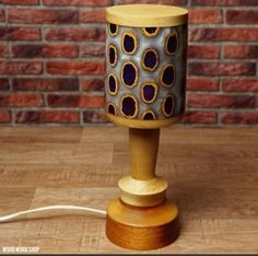 Wooden Table Lamps, Wood Lamps, Wooden Walls, Wood Table, Ceiling Lamp, Home Decor, Wood Walls, Timber Table, Decoration Home