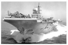 HMS Hermes R 12 Centaur class aircraft carrier Royal Navy Royal Navy Aircraft Carriers, Navy Carriers, Uss Enterprise, Zeppelin, Indian Navy Ships, British Aircraft Carrier, Royal Marines, Military Photos, Submarines