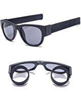 e4f5a78365d Amazon.com  Slapsee Folding Sunglasses Blue  Clothing