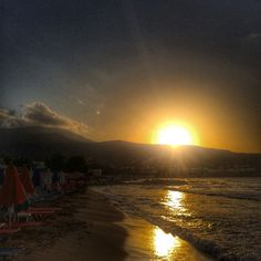 What can be better than a sunset in Greece?
