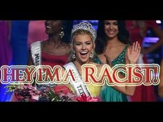 Miss Teen USA questioned about her racial slur - YouTube