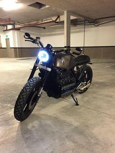 BMW k100 by Motoboxes