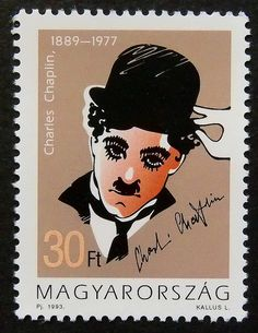 Hey, I found this really awesome Etsy listing at https://www.etsy.com/listing/181434617/charles-chaplin-1889-1977-notable-14855