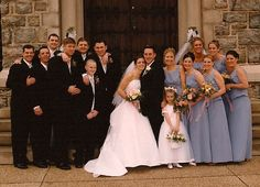 Christine Fee Williams, MSM C'01, and Mike Williams, MSM C'01, were married in the Chapel of Immaculate Conception on Mount campus on April 26, 2003 - 5 members of the wedding party were Mount grads from classes of '92, '00, and '01.