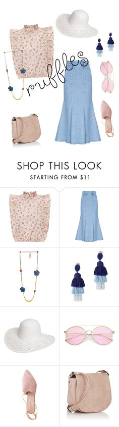 """""""In the Pink"""" by mailcathyterp ❤ liked on Polyvore featuring FLOW the Label, Oscar de la Renta, Dorothy Perkins, Summit and Deux Lux"""
