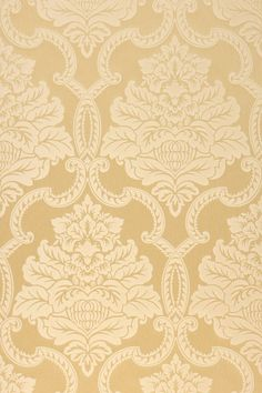 High-quality fabrics combined with ornate Baroque ornaments and a shimmering silk sheen - luxury wallpaper Amalia meets all these requests. The surface of this textile wallpaper consists of beautifully refined warp threads in a brightening sand yellow. Yellow Wall Decor, Yellow Walls, 3d Pattern, Yellow Pattern, Wallpaper Samples, Pattern Wallpaper, Textiles, Baroque, Hallway Wallpaper