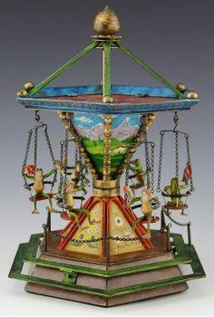 Bergman Frog Carousel
