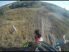 Girl gets smashed by dirt bike FULL VIDEO by  Ryan Bacheldor | Kx125Dude...