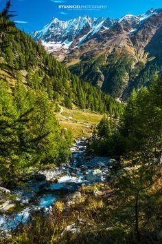 Hiking from LauchernAlp to FaflerAlp: The Lötschental Höhenweg