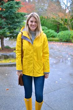 OOTD: How To Style A Yellow Raincoat | Britt Whit