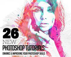 26 New Photoshop Tutorials to Improving Your Photoshop Skills