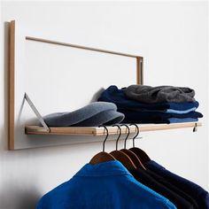 ACHICA | Ambivalenz - Flapps Clothes Rail Hangrail - White
