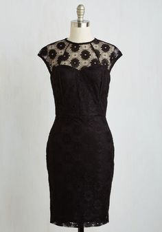 Veni Vidi Vixen Dress. Conquer date nights and resplendent soirees alike with this this sultry black sheath dress!