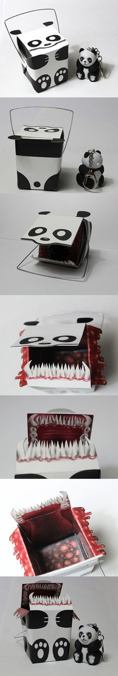 Evil Panda Pack Design  --Behance--  CB