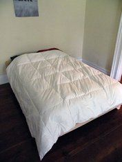 2 X 8 Bed : 5 Steps (with Pictures) - Instructables Pallet Lounge, Diy Pallet Sofa, Wooden Pallet Furniture, Pallet Beds, Diy Furniture, Making A Bed Frame, Diy Bed Frame, Dyi Beds, Diy Platform Bed Plans