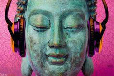 Buddha music chill - plakat