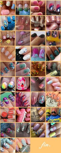 50 Amazing Nail Art Designs For Beginners With Styling Tips #BeginnersNailArtDesigns