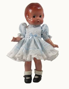 """12"""" Pastel Tulip Doll Dress fits Goodfellow dolls as well as Patsy."""