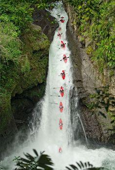 Los rapidos de Rio Filobobos y Actopan