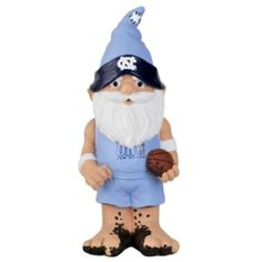 "North Carolina Tar Heels Garden Gnome - 11"" Thematic - BiggSports.com"