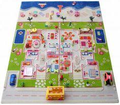 Spielteppich Puppenhaus Summerfeeling