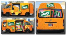 Mondelez International Teams Up With Encyclomedia & Turns It's Delivery Vans Into A Mobile Medium For Brand Communication Of Tang In Dubai!