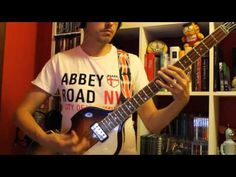 """BASS COVER """"While My Guitar Gently Weeps"""""""