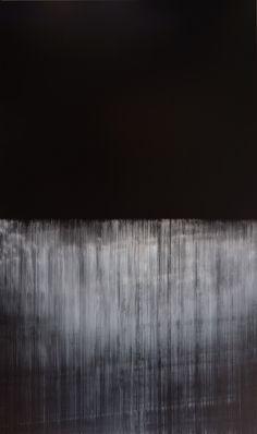 Lines of Flight op.370, oil on canvas, 2012, 324cm x 194cm