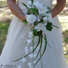 bouquet mariée blanc et rouge - recherche google | bouquets