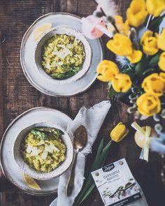 KOTIBISTRON PÄÄSIÄISMENU – Liemessä Lidl, Ravioli, Parsa, Mozzarella, Ramen, Feta, Risotto, Ethnic Recipes, Food