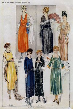 December 1919 Fashion    From the December 1919 issue of The Woman's Magazine.