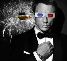 315/365 - Spectre -The James Bond Movie. If it came in 3D it'd kill ya! #spectre #bond #jamesbond #pencilpixels