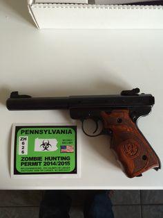 Ruger Mark III Target .22 Gun Bash Winner #2
