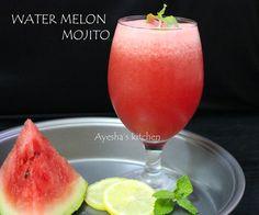 WATER MELON MOJITO - QUICK WELCOME DRINK RECIPE (non alcoholic)