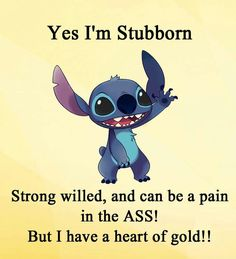 40 best stich quotes images in 2019 disney stitch, lilo stit Lilo Stitch, Lilo And Stitch Memes, Lelo And Stitch, Cute Stitch, Funny True Quotes, Funny Relatable Memes, Cute Quotes, Movie Quotes, Funny Disney Memes