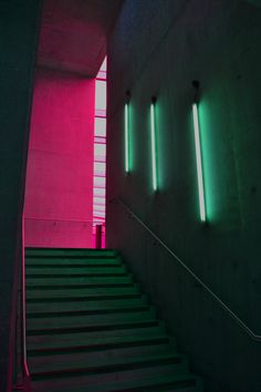 Pink and green neon Neon Lighting, Lighting Design, Bar Lighting, Alter Do Chao, Neon Noir, Bar Interior, Interior Lighting, Interior Design, Neon Aesthetic