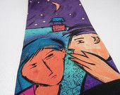 Beatles DO You Want to Know a SECRET tie / mens tie / Designer necktie / fushia teal purple black / pure silk / music / made in usa / Hip