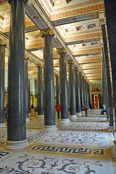 PLEASE, no multi invitations in your comments. Thanks. I AM POSTING MANY DO NOT FEEL YOU HAVE TO COMMENT ON ALL - JUST ENJOY.  The Twenty-Column Hall The room contains a collection of art created in ancient Italy from the late 9th to 2nd century B.C.