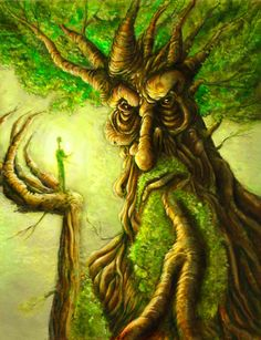 Treebeard sketch card by BrentWoodside on DeviantArt Vehicle manhattan project principale statement que l'on peut Fantasy Forest, Fantasy Art, Fantasy Trees, Magical Creatures, Fantasy Creatures, Herne The Hunter, Magical Tree, Tree Faces, Fairytale Art