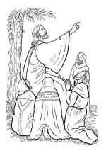 oldnew testament christmas and bible maps coloring pages