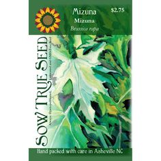We love the delicate leaf shape and gentle spice of Mizuna greens in our salads, soups, and stir-fries. Also known as Japanese mustard greens, this member of the Mustard family has some frost tolerance making it a great choice for a fall garden. Late Summer, Early Spring, Mustard Greens, Seed Packets, Autumn Garden, Leaf Shapes, Grow Your Own, Vegetable Gardening, Bright Green