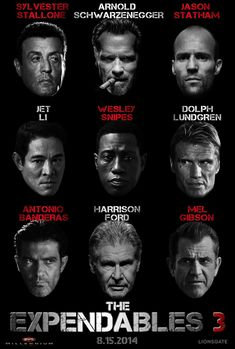 {^Film-complet^} The Expendables 3 Streaming VF - 2014 Film Complet # # Badass Movie, Love Movie, Action Movie Stars, Action Movies, Sylvester Stallone, Jason Statham, Stallone Schwarzenegger, Arnold Schwarzenegger, The Expendables 3
