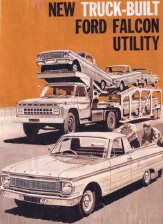 1965 Ford XP Falcon Utility ad (Australia)